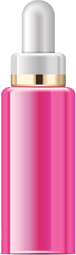 Pretty Pink Beauty Product Container Cartoon #10 Vinyl Decal Sticker