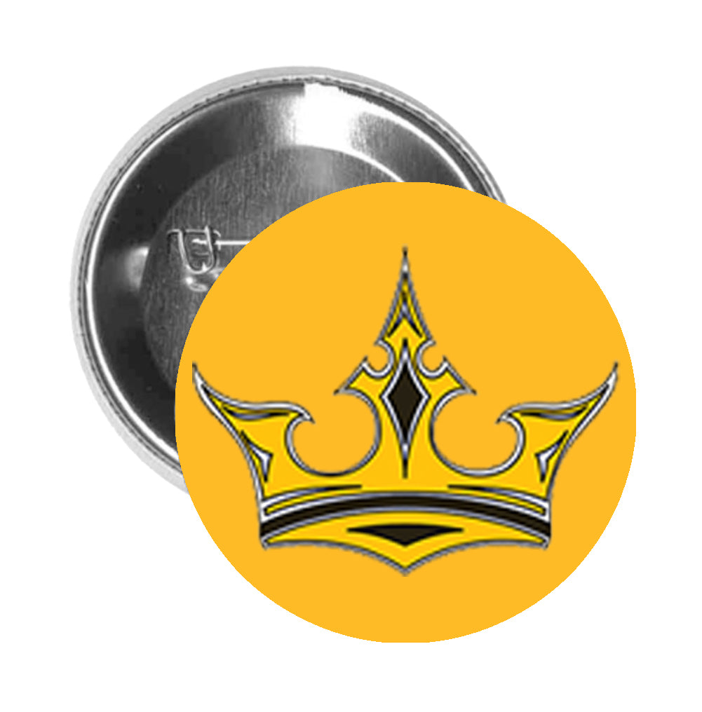Round Pinback Button Pin Brooch Simple Tattoo Style Yellow Royal Rose Shinobi Stickers Choose from 700+ cartoon crown graphic resources and download in the form of png, eps, ai or psd. https shinobi stickers com collections tattoo products round pinback button pin brooch simple tattoo style yellow royal rose cartoon crown gold