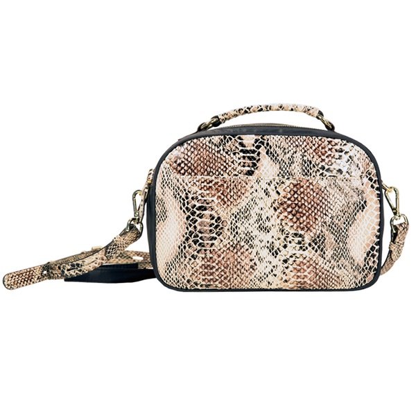 Taylor Crossbody - Natural Python