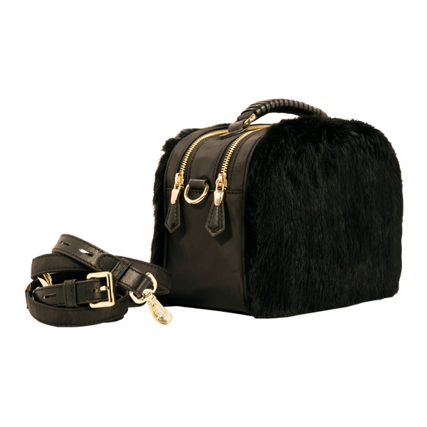 Taylor Faux Fur - Camera Bag Crossbody