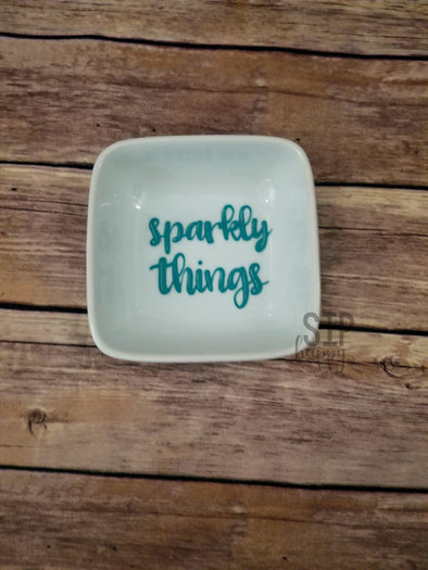 Sparkly Things Ring Dish
