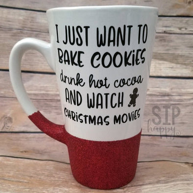 Bake Cookies Christmas Coffee Mug