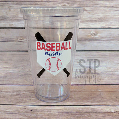 Ready To Ship Baseball Mom Tumbler