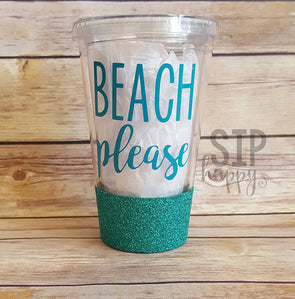 Beach Please Tumbler