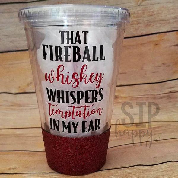 Fireball Whiskey Tumbler
