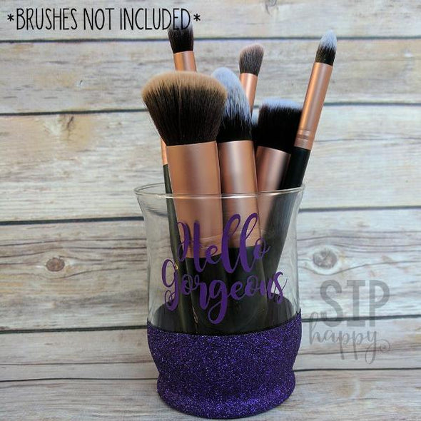 Hello Gorgeous Makeup Brush Holder