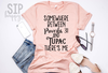 Somewhere Between Proverbs 31 & Tupac There's Me Unisex Shirt