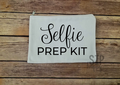 Selfie Prep Kit Cosmetic Bag