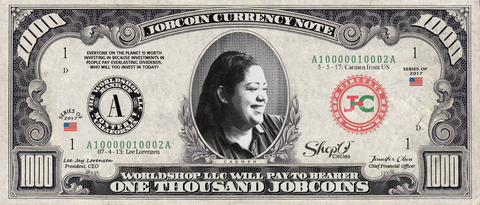 Kiva Borrower: Collect the Carmen_from_US 1,000 JobCoin Note