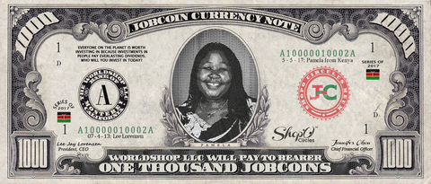 Kiva Borrower: Collect the Pamela_from_Kenya 1,000 JobCoin Note