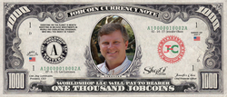 ICO Expert: Collect the S009N100 Lee Lorenzen 1,000 JobCoin™ Note
