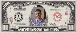 ICO Expert: Collect the S009N008 Nick Tomaino 1,000 JobCoin™ Note