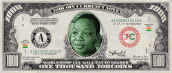 Limited Edition: Collect the Okanta Kate 1,000 JobCoin™ Note -- April 2017 Honoree