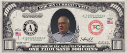 ICO Expert: Collect the S009N010 Brendan Eich 1,000 JobCoin™ Note