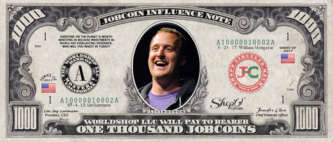 ICO Expert: Collect the S009N002 Ted Livingston 1,000 JobCoin™ Note