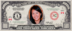 ICO Expert: Collect the S009N011 Lisa Cheng 1,000 JobCoin™ Note