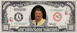 ICO Expert: Collect the S009N090 Steve Grundy 1,000 JobCoin™ Note