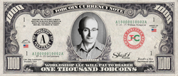 ICO Expert: Collect the S009N007 William Mougayar 1,000 JobCoin™ Note