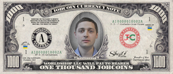 ShopO Leader: Collect the Gorbachov_from_Ukraine 1,000 JobCoin Note