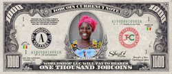 ShopO Leader: Collect the Martha_from_Mali 1,000 JobCoin Note