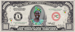 ShopO Leader: Collect the Ruth_from_Mali 1,000 JobCoin Note