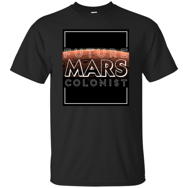 Future Mars Colonist - Black Version
