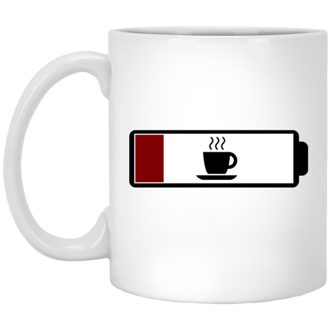 Coffee Low Battery - Funny Mug