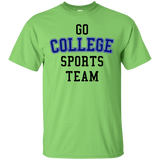 Go College Sports Team Blue