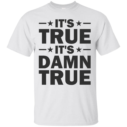 It's True, It's Damn True - Kurt Angle (Distress White)