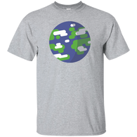 Planet Earth Flat Design
