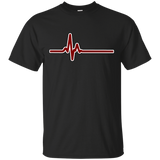 Heartbeat ECG Red