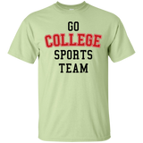 Go College Sports Team Red