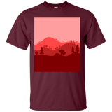 Landscape Blended Red
