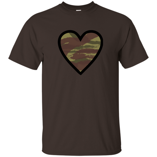 Camo Heart - Camouflage Pattern B