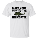 Make Your Way to the Helicopter