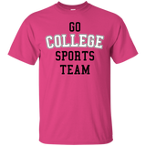 Go College Sports Team White
