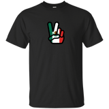 Peace Hand Sign Flag Mexico