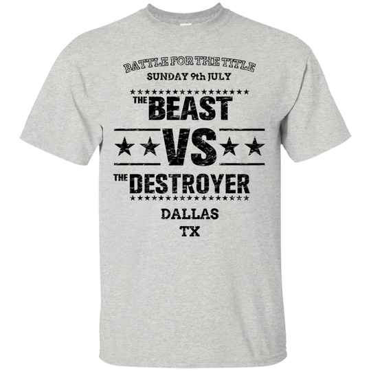 Beast VS Destroyer (dark)