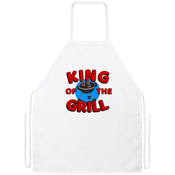 King of the BBQ Grill Cookout Barbecue Apron