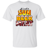 All I Need is Sun Beer & Meat