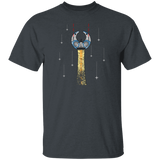Arcade Space Ship 2D Flat Design Retro T-Shirt