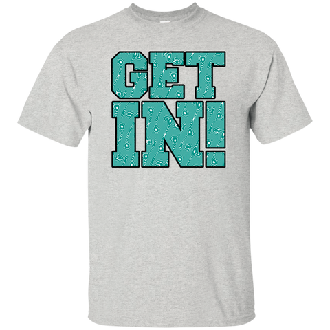 Get In! Teal Swirl
