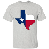 Texas Flag and State Outline