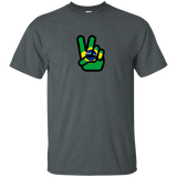 Peace Hand Sign Flag Brazil
