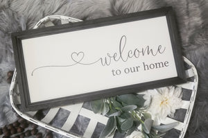 Welcome Signs & Entryway Signs