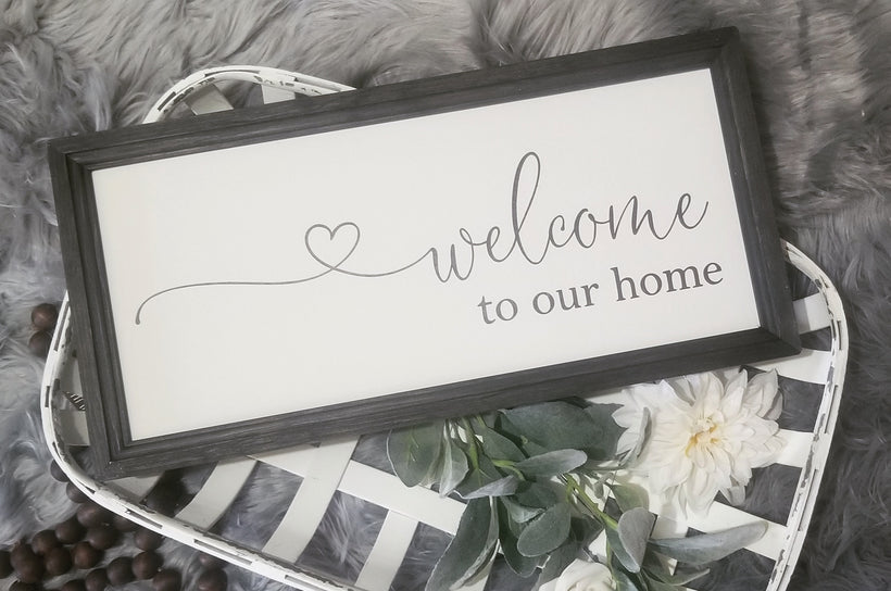 Welcome signs and Entryway signs