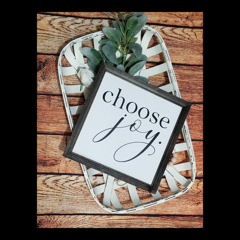 choose joy sign, choose joy,  decor, joy sign, inspirational decor, farmhouse sign, gallery wall decor, choose joy wood sign