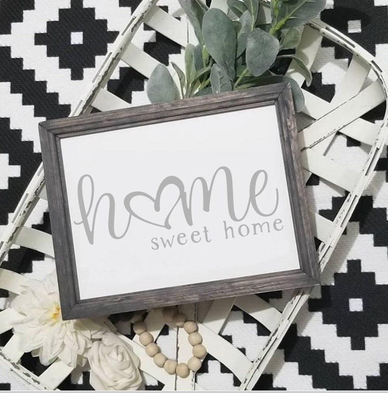 Home sign, wood Home sign, Home sweet home sign,  sign, entryway decor, welcome home sign, farmhouse decor, painted home sign