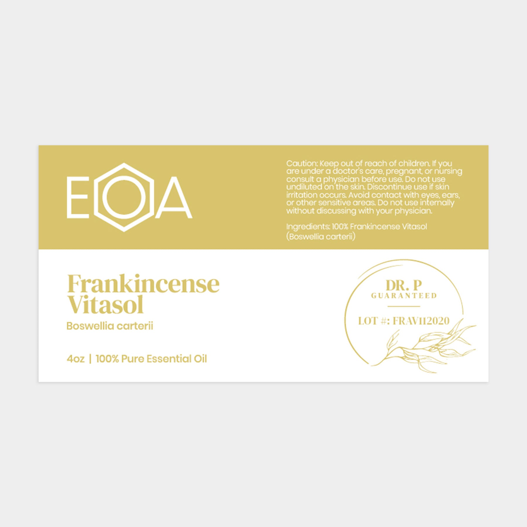 "Frankincense ""Sixth Cense"" Super Blend-15 ml"