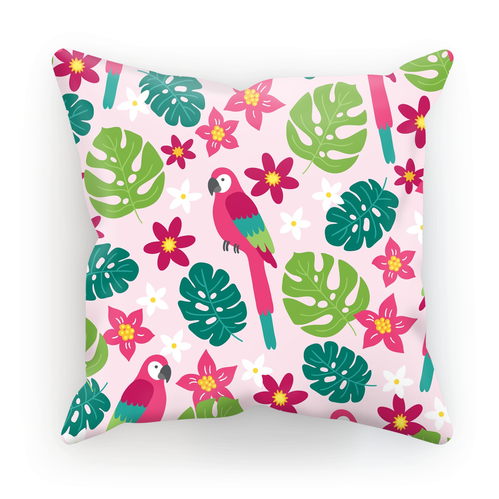 abstract gradient pillow pink throw and grey cubes pillows